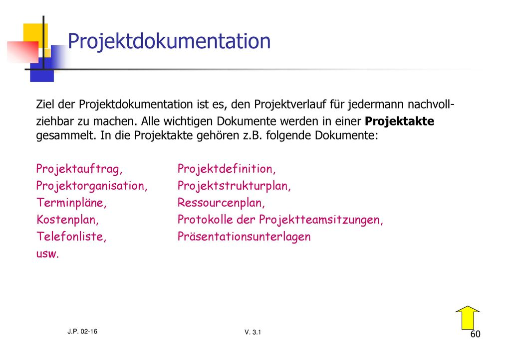 Projektdokumentation