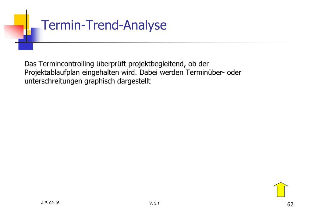 Termin-Trend-Analyse