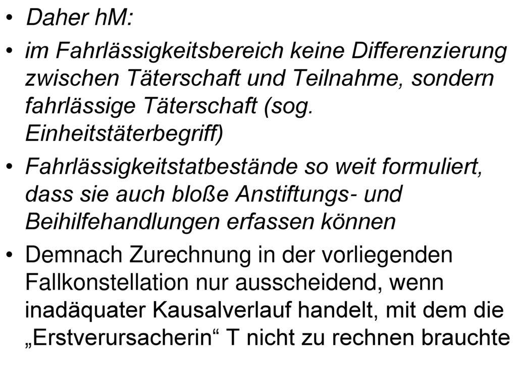 Daher hM: