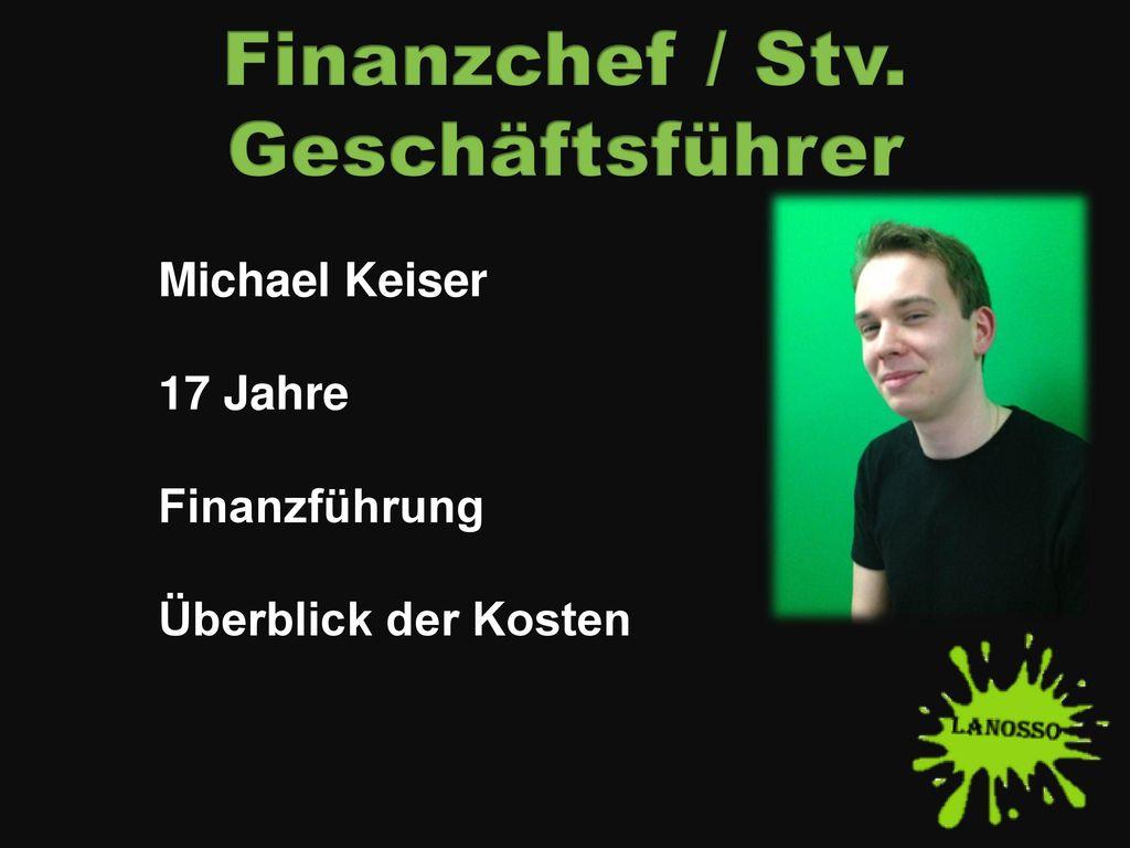Finanzchef / Stv. Geschäftsführer