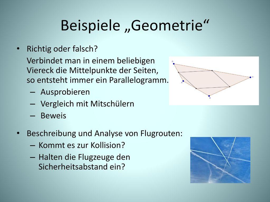 """Beispiele """"Geometrie"""