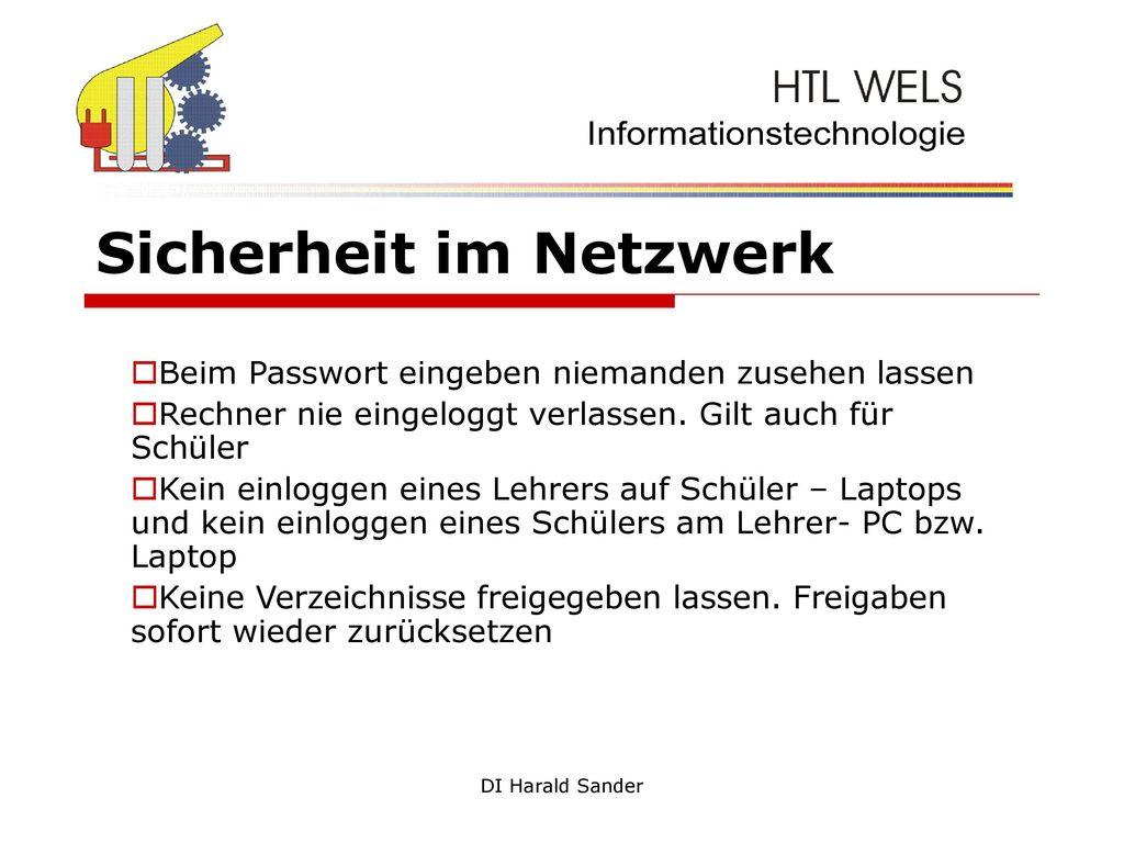 Sicherheit im Netzwerk