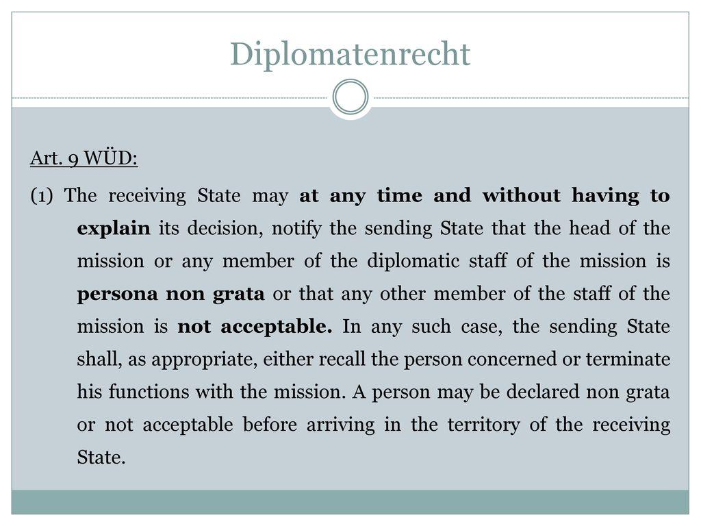 Diplomatenrecht
