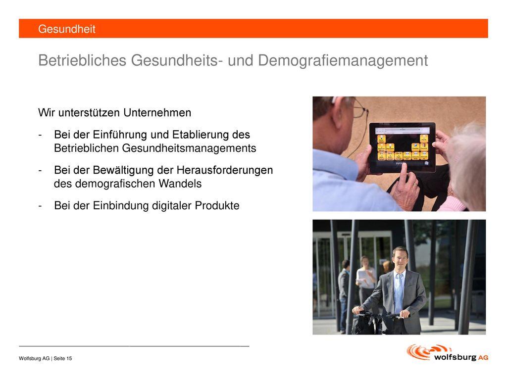 Betriebliches Gesundheits- und Demografiemanagement