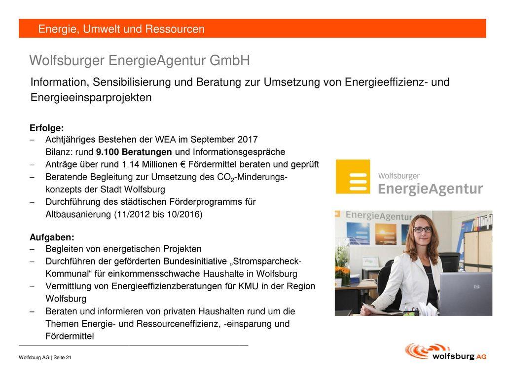 Wolfsburger EnergieAgentur GmbH