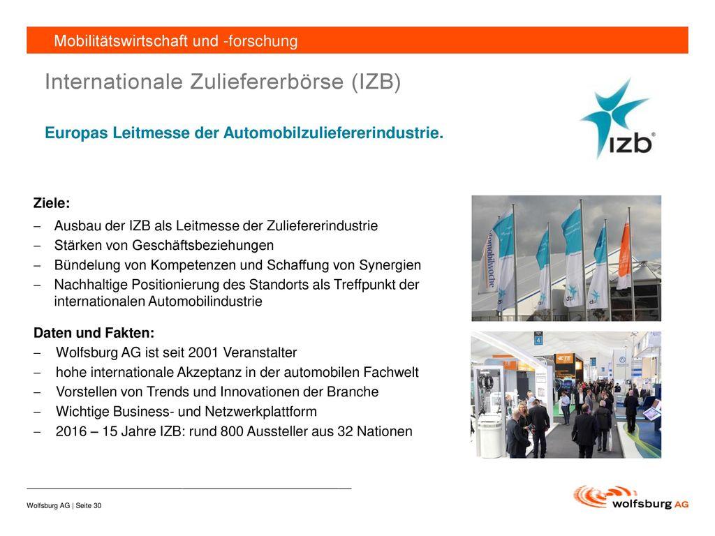 Internationale Zuliefererbörse (IZB)