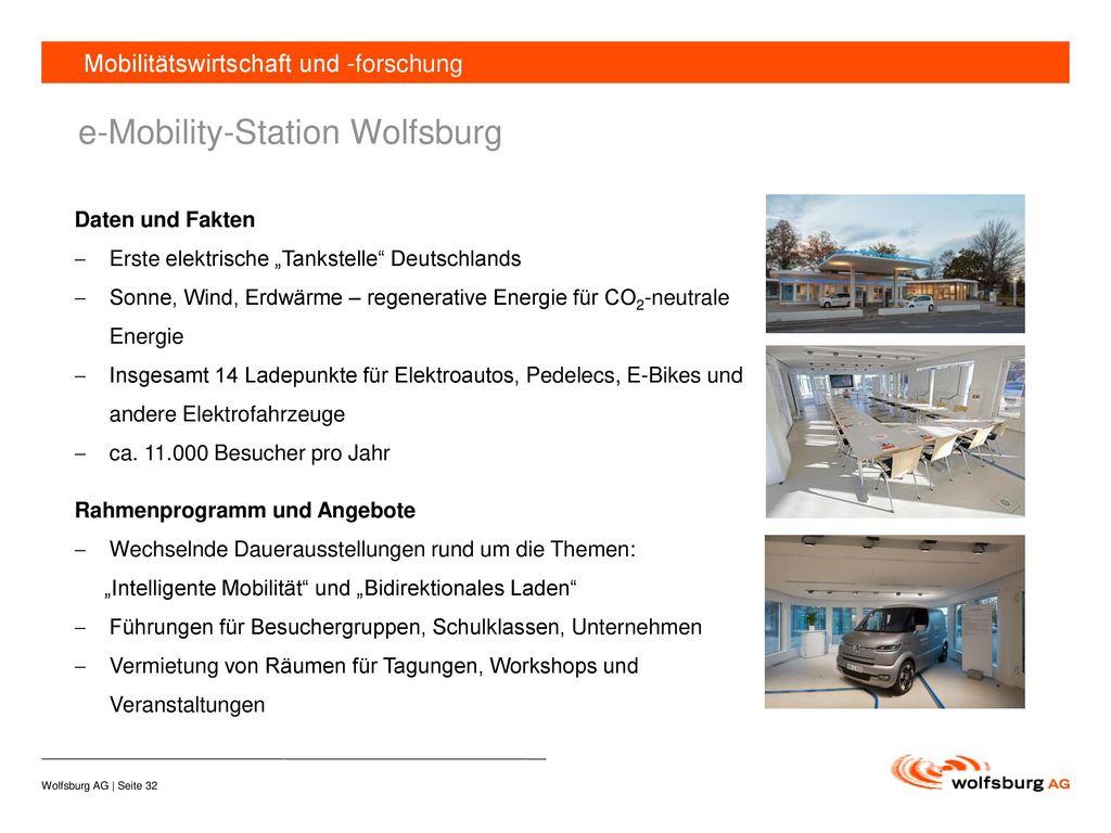 e-Mobility-Station Wolfsburg