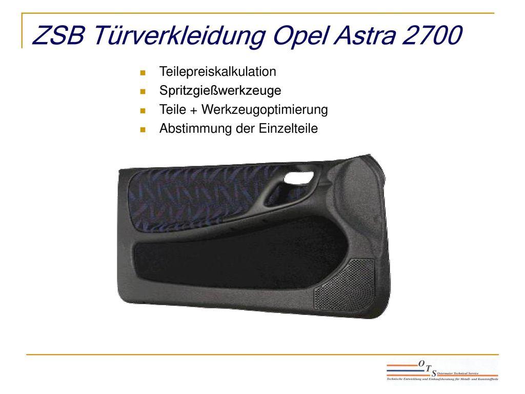 ZSB Türverkleidung Opel Astra 2700