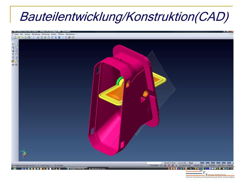 Bauteilentwicklung/Konstruktion(CAD)