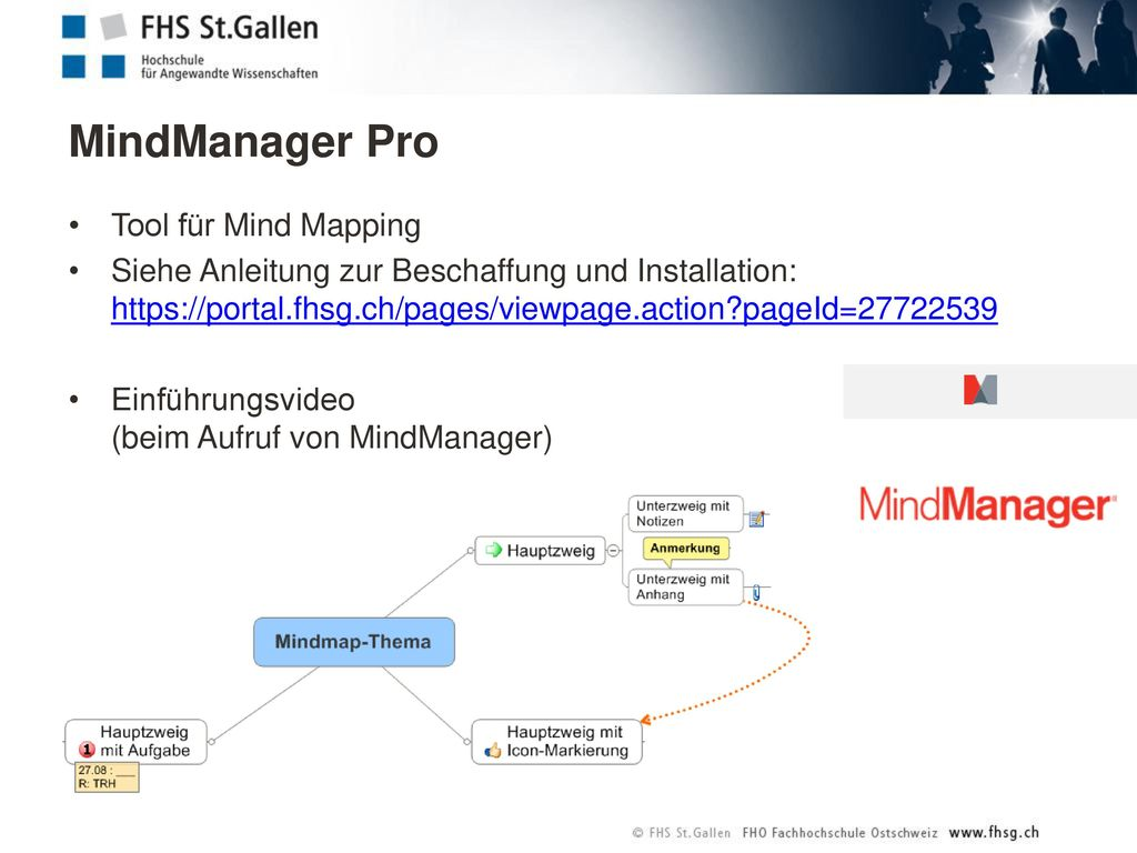 MindManager Pro Tool für Mind Mapping