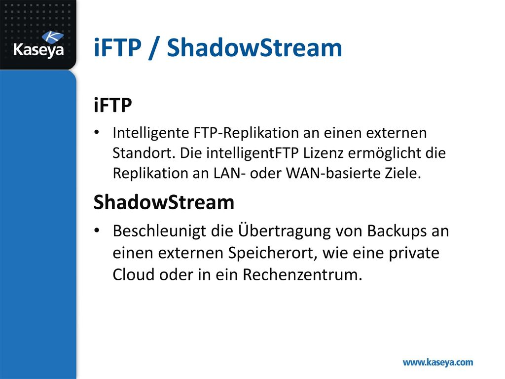 iFTP / ShadowStream iFTP ShadowStream