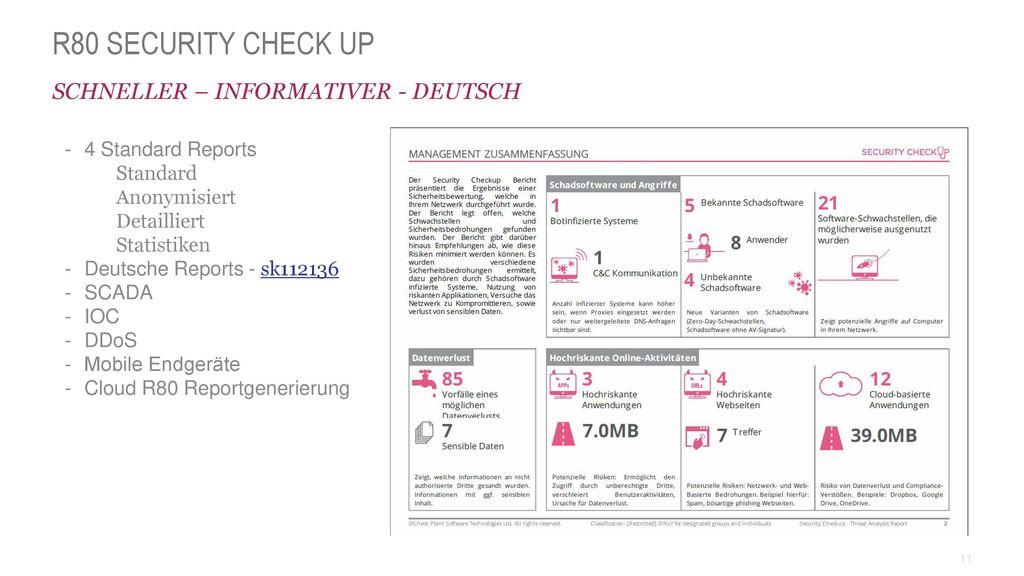 R80 Security Check UP Schneller – Informativer - Deutsch