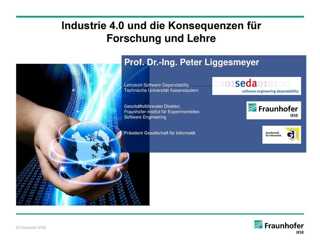 Industrie 4.0 und die Konsequenzen für Forschung und Lehre