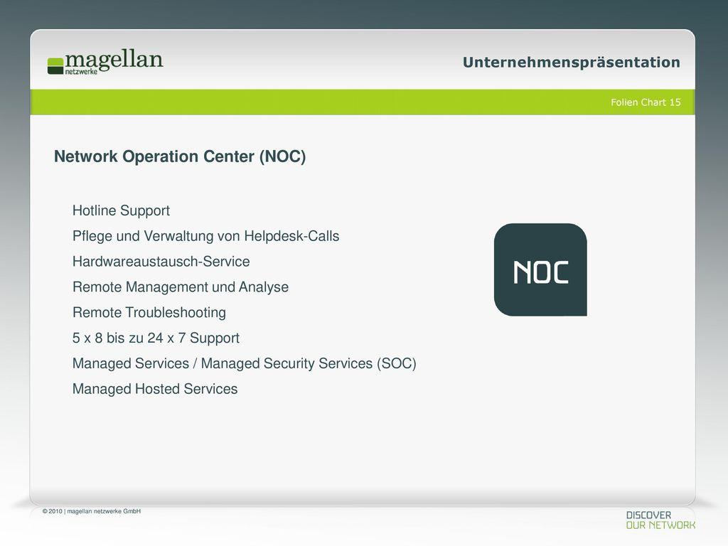 Network Operation Center (NOC)