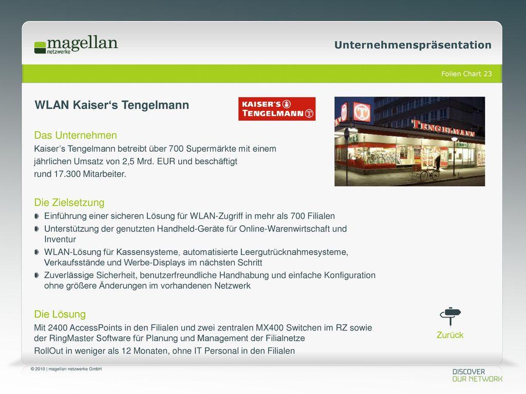 WLAN Kaiser's Tengelmann
