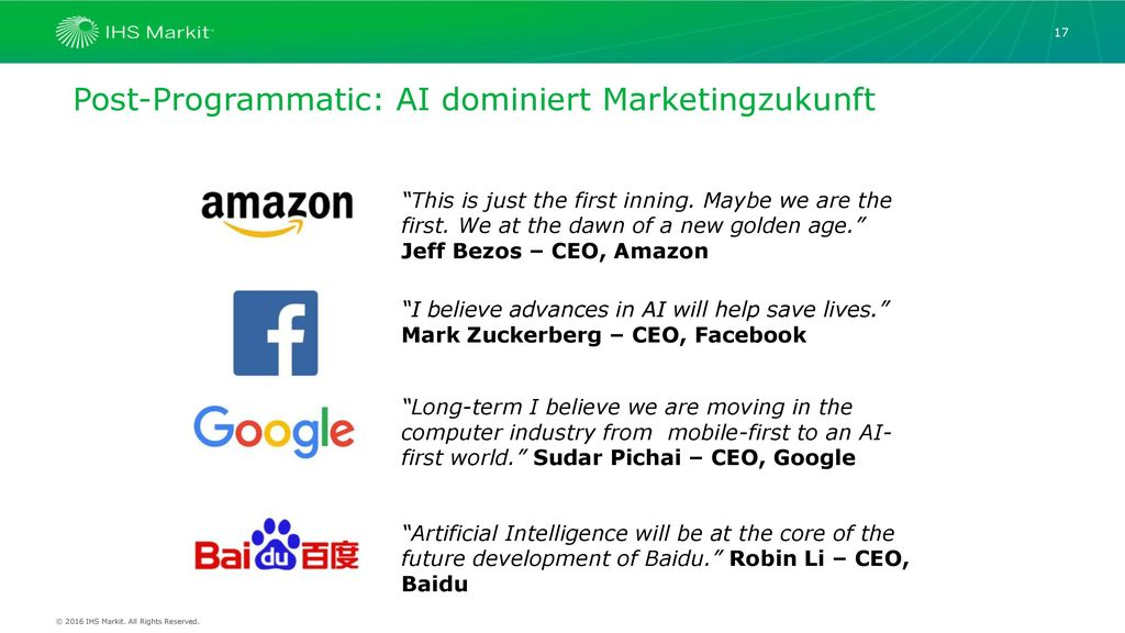Post-Programmatic: AI dominiert Marketingzukunft