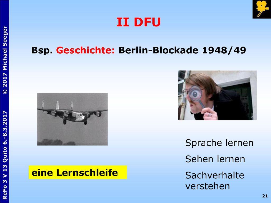 Bsp. Geschichte: Berlin-Blockade 1948/49