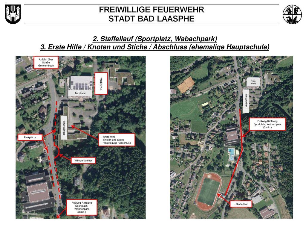 2. Staffellauf (Sportplatz, Wabachpark)