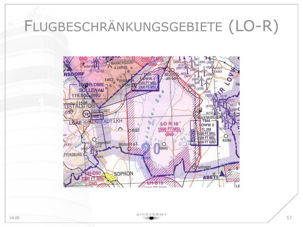 Flugbeschränkungsgebiete (LO-R)