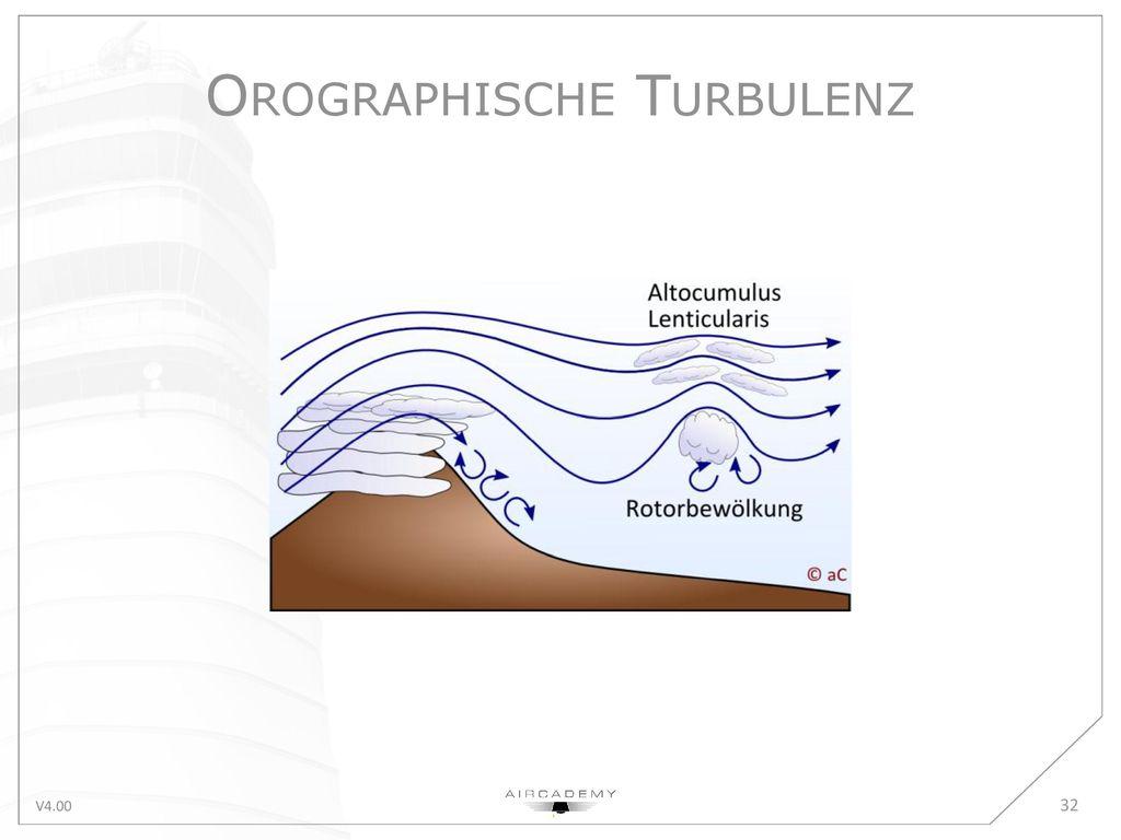 Orographische Turbulenz