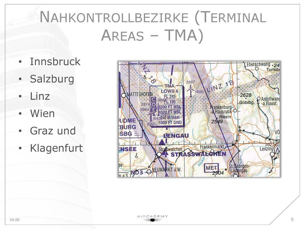 Nahkontrollbezirke (Terminal Areas – TMA)
