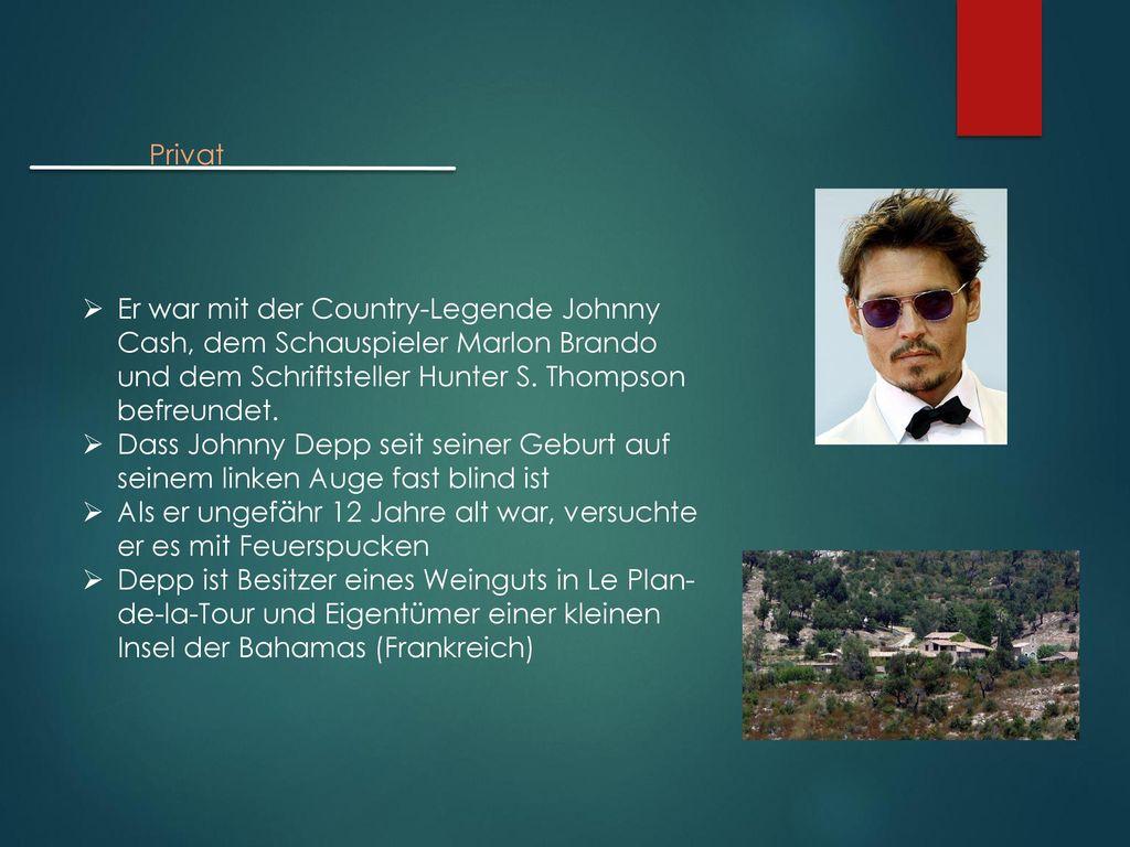 Privat Er war mit der Country-Legende Johnny Cash, dem Schauspieler Marlon Brando und dem Schriftsteller Hunter S. Thompson befreundet.