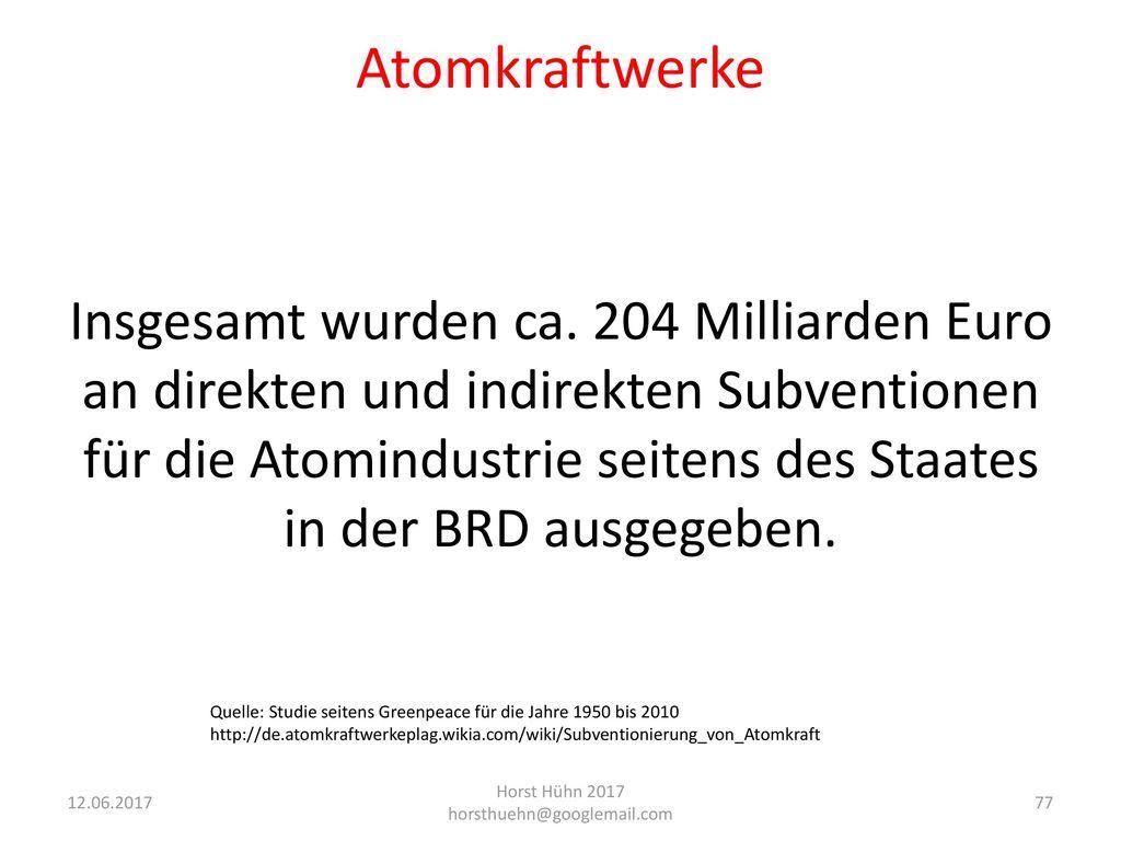 Horst Hühn 2017 horsthuehn@googlemail.com