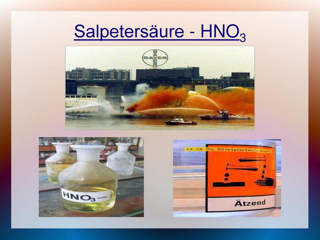 Salpetersäure - HNO3