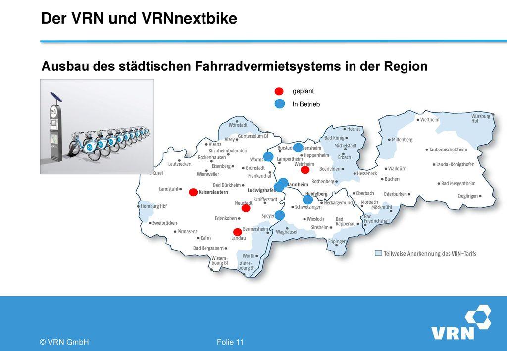 Der VRN und VRNnextbike
