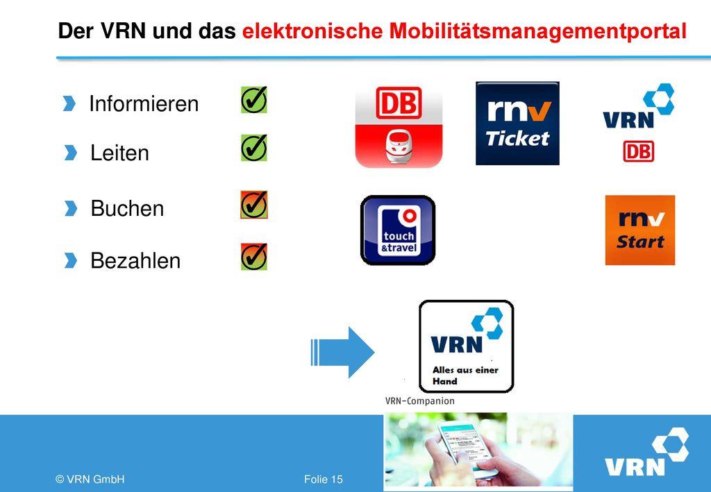 Der VRN und das elektronische Mobilitätsmanagementportal