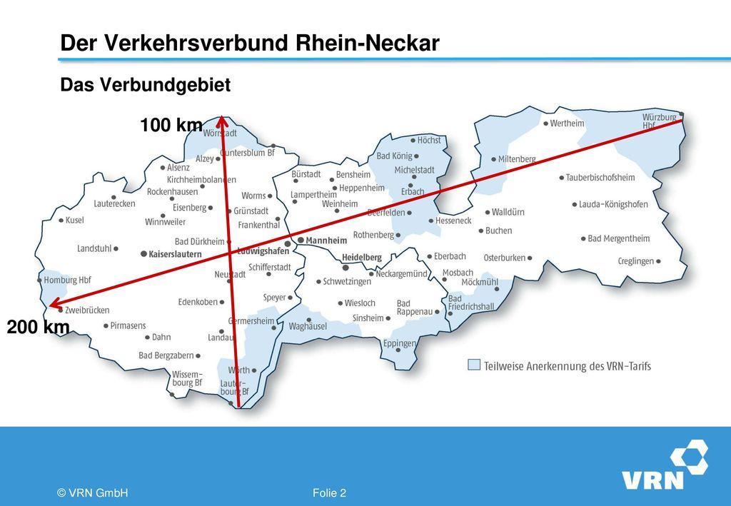 Der Verkehrsverbund Rhein-Neckar