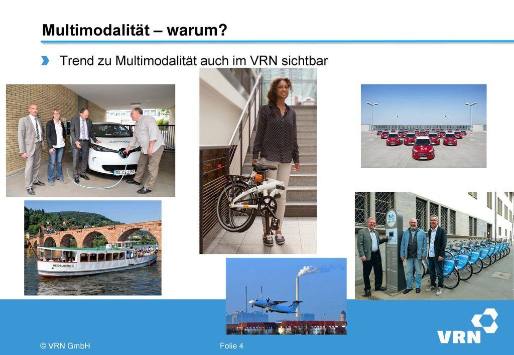 Multimodalität – warum