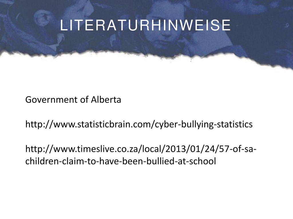 LITERATURHINWEISE Government of Alberta