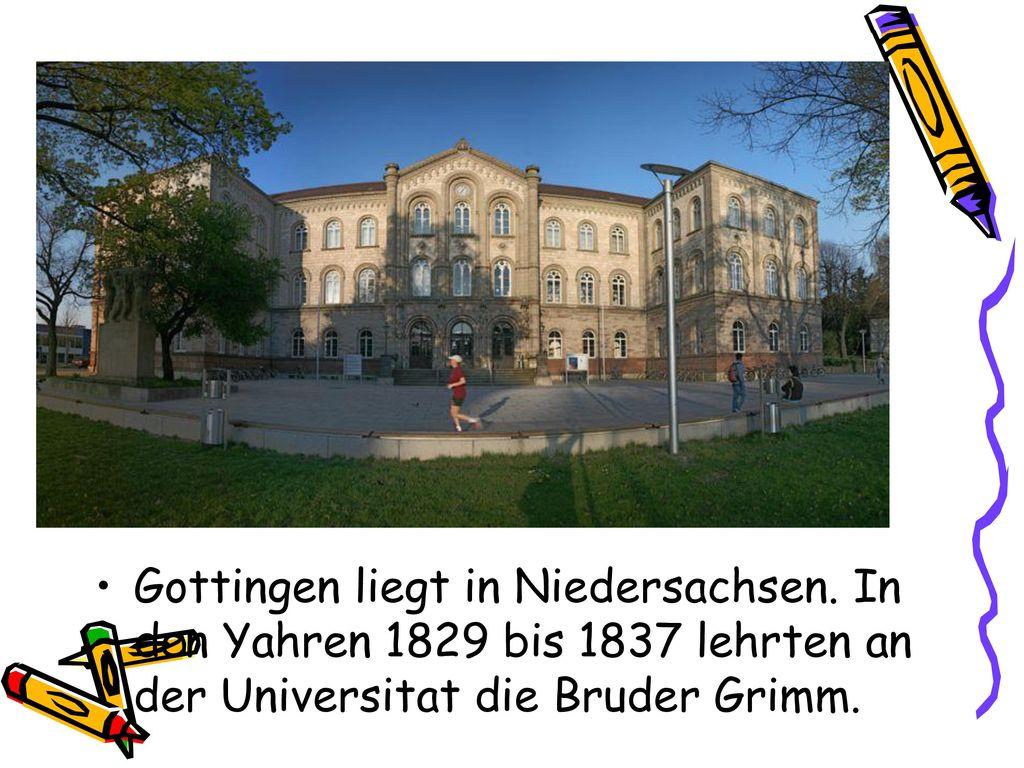 Gottingen liegt in Niedersachsen