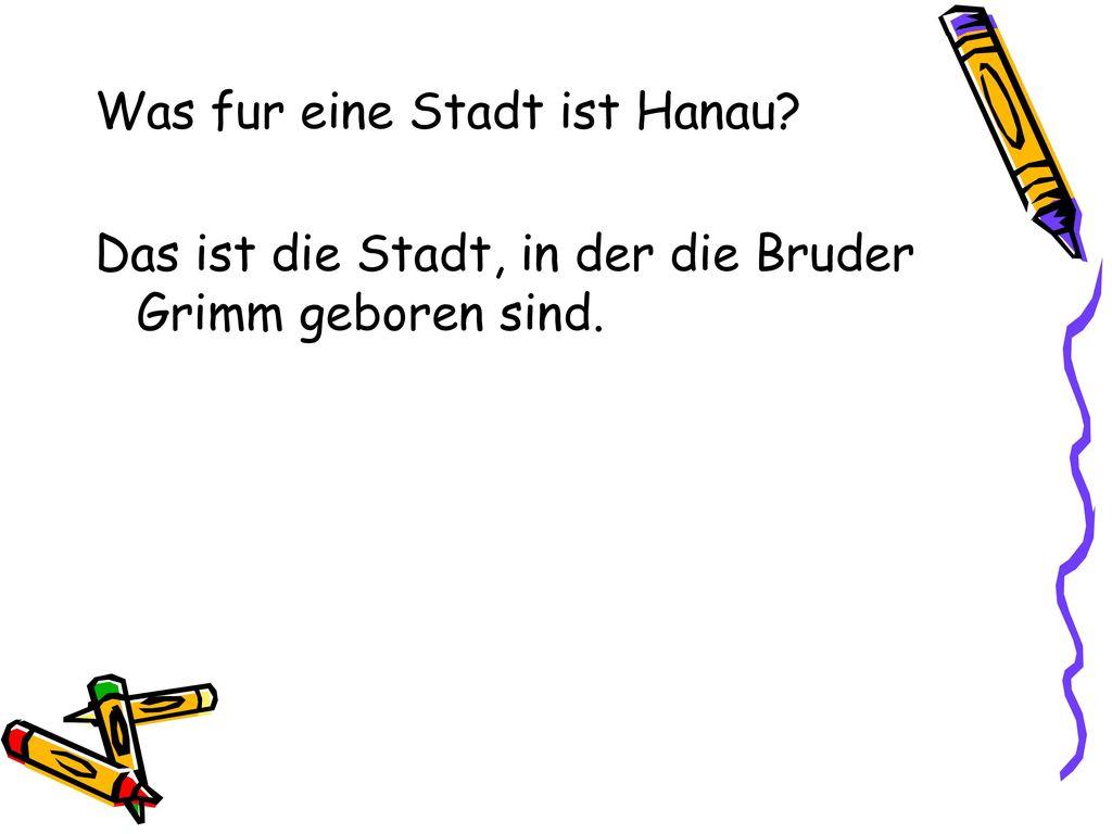 Was fur eine Stadt ist Hanau
