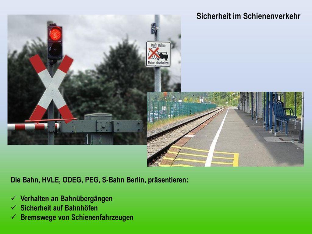Sicherheit im Schienenverkehr