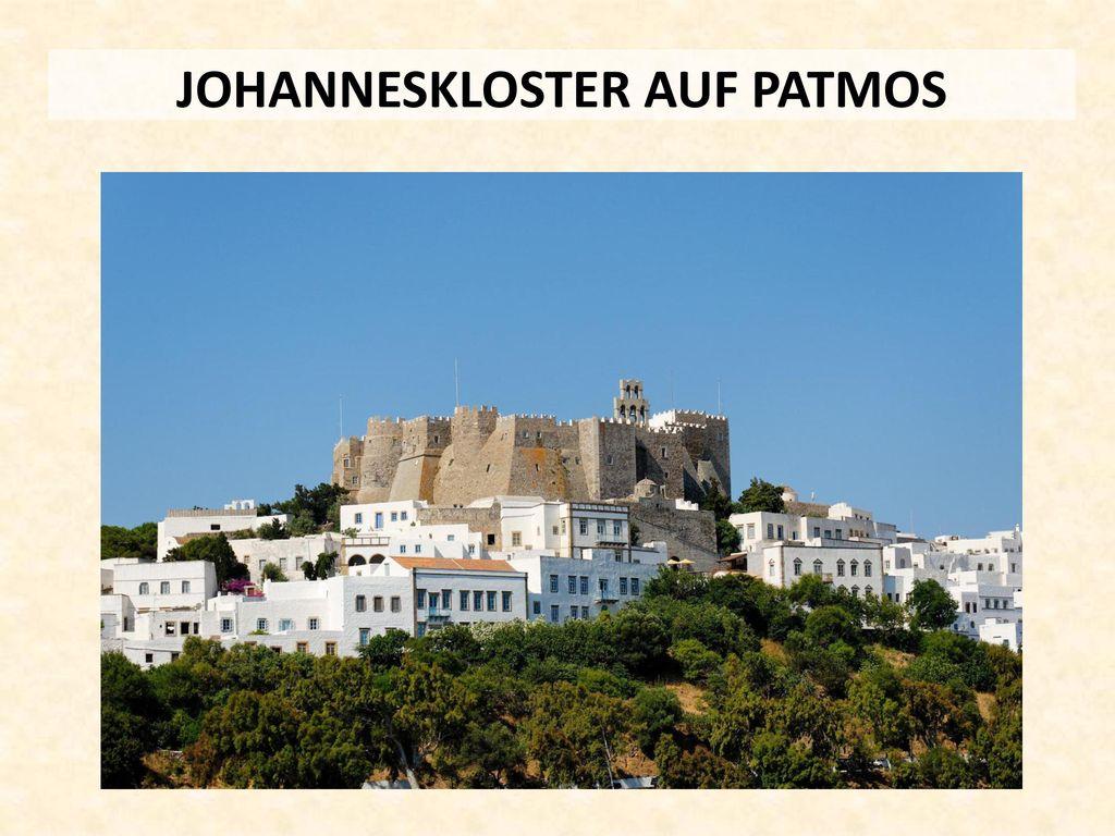 JOHANNESKLOSTER AUF PATMOS