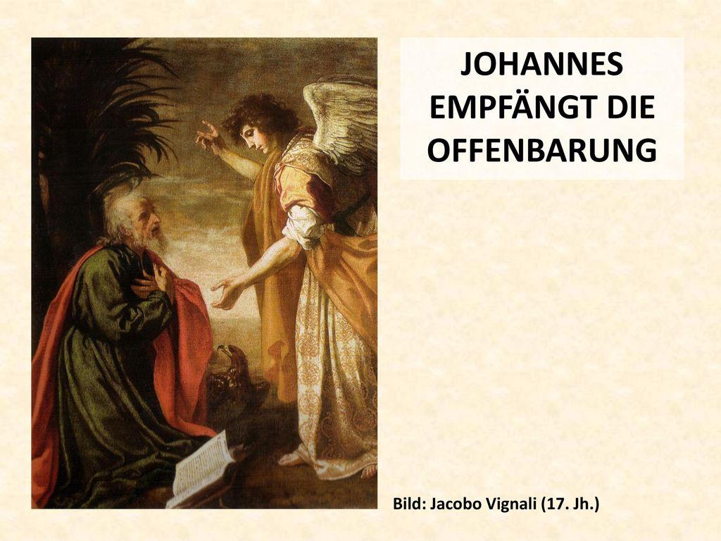 JOHANNES EMPFÄNGT DIE OFFENBARUNG