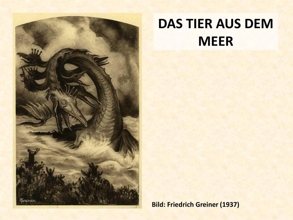 DAS TIER AUS DEM MEER Bild: Friedrich Greiner (1937)