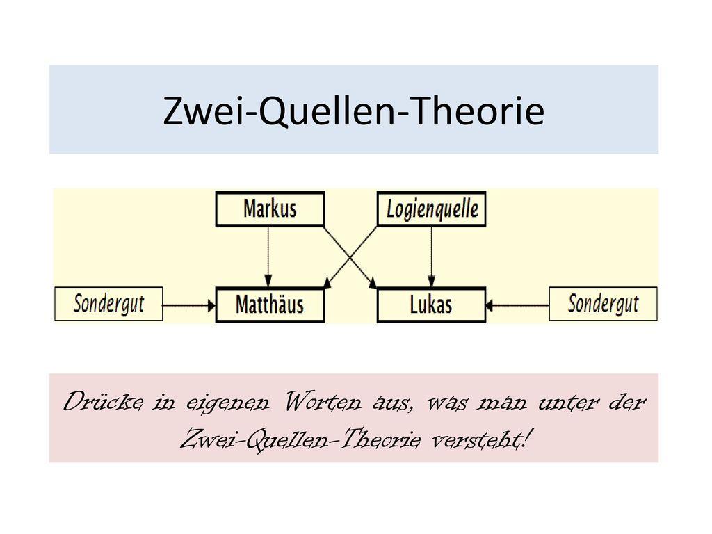 Zwei-Quellen-Theorie