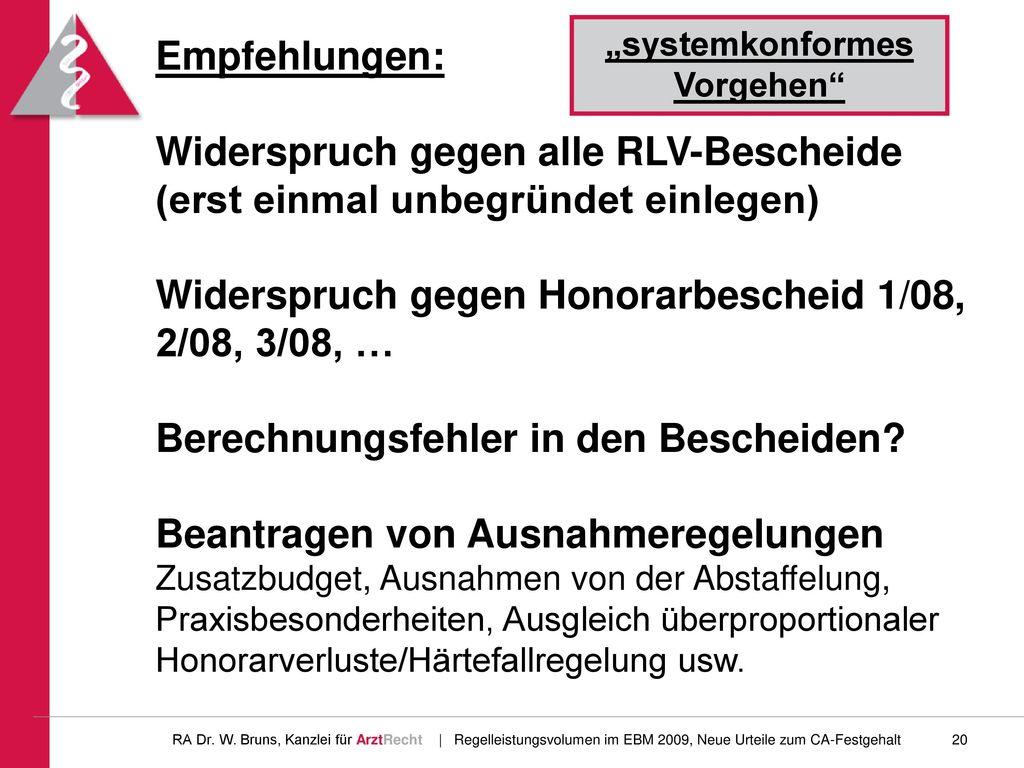 """""""systemkonformes Vorgehen"""