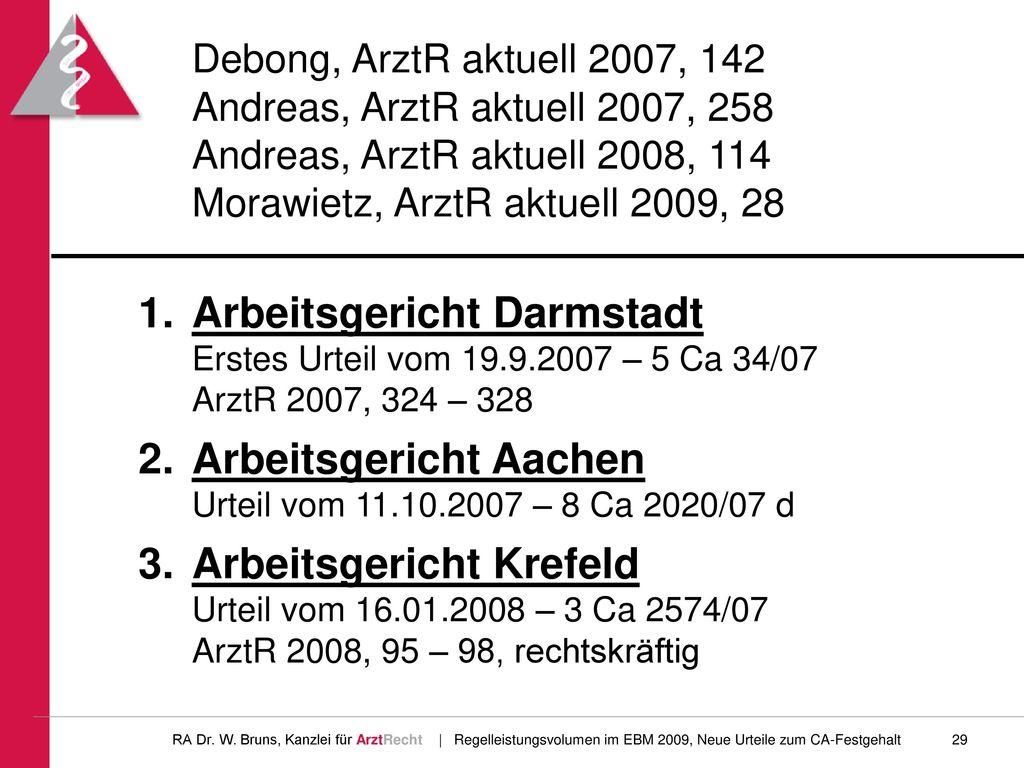 Arbeitsgericht Aachen Urteil vom 11.10.2007 – 8 Ca 2020/07 d
