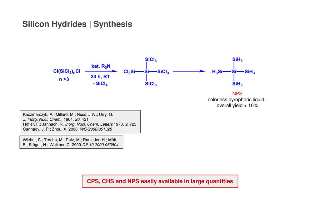 CPS, CHS and NPS easily available in large quantities