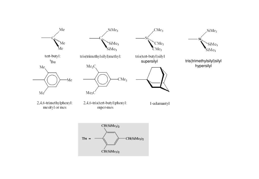 tris(trimethylsilyl)silyl hypersilyl