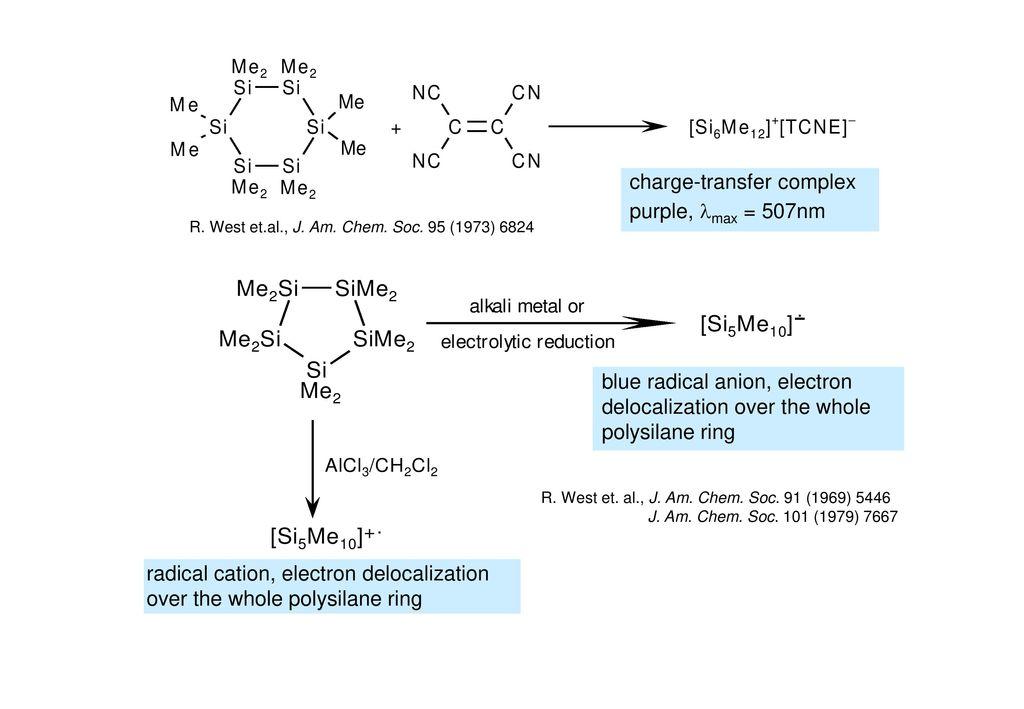 R. West et.al., J. Am. Chem. Soc. 95 (1973) 6824