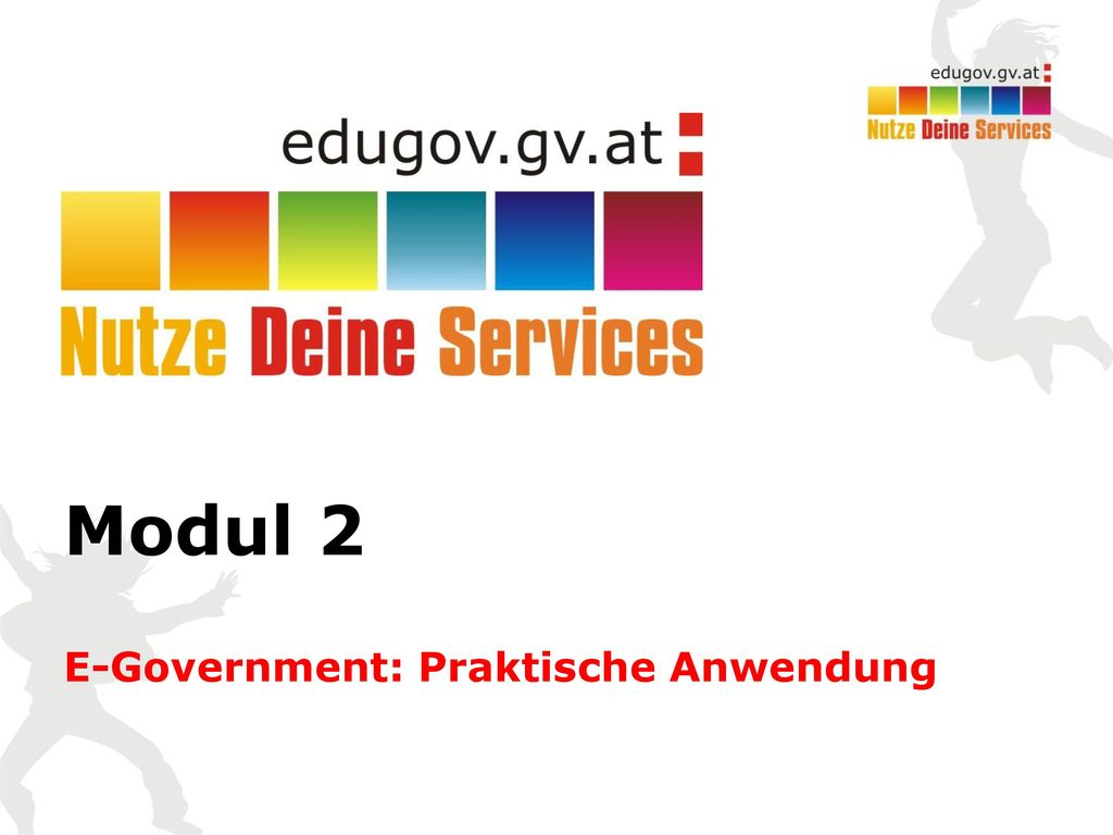 E-Government: Praktische Anwendung