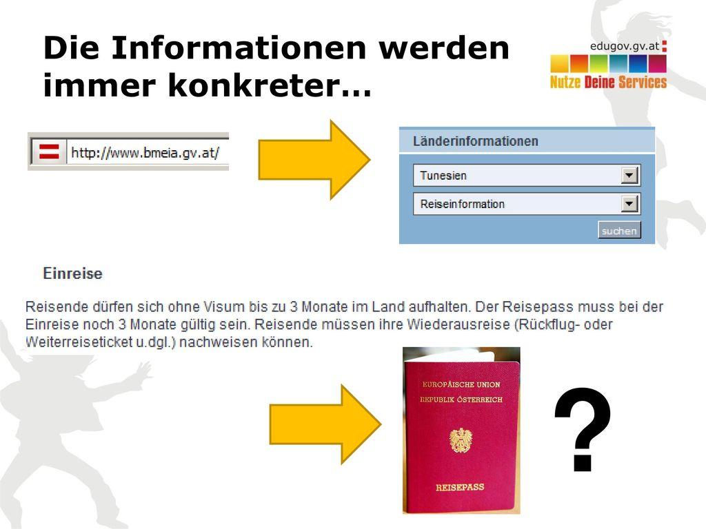 Die Informationen werden immer konkreter…