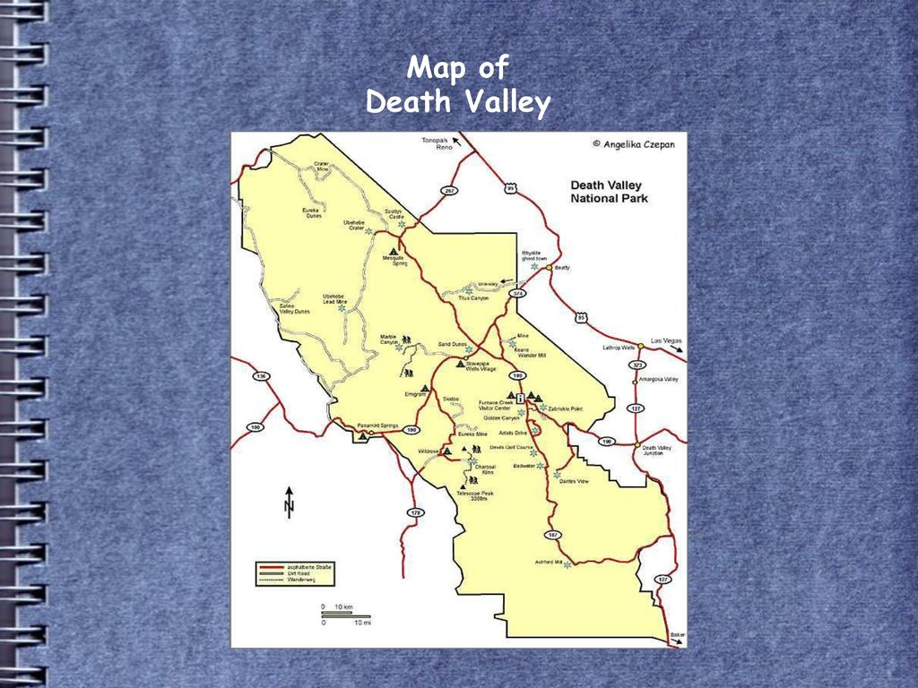 Map of Death Valley 6