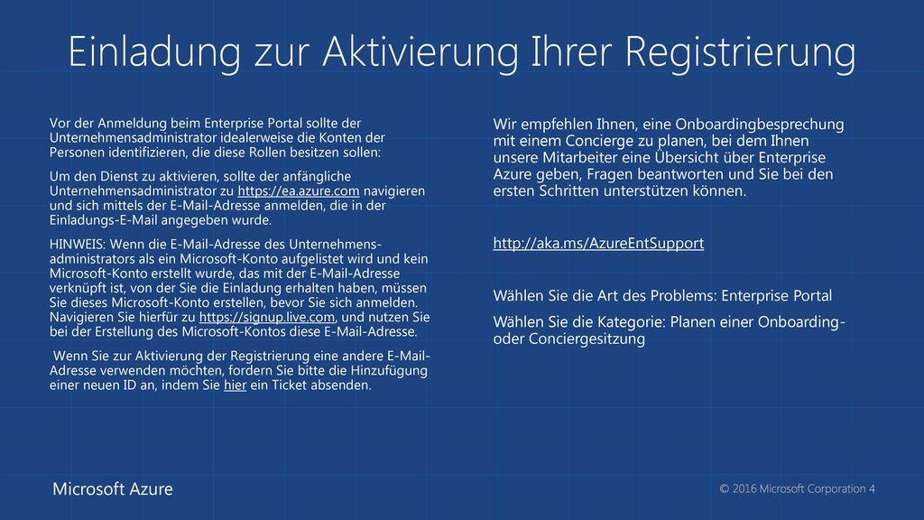 Einladung zur Aktivierung Ihrer Registrierung