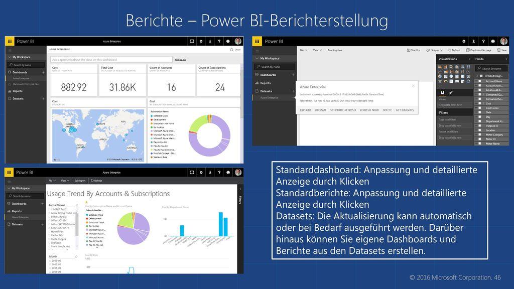 Berichte – Power BI-Berichterstellung
